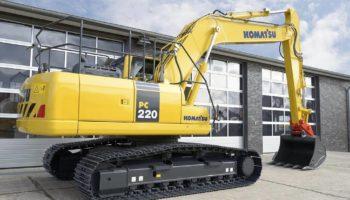 Аренда Экскаватора Komatsu PC220