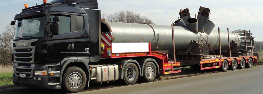 Перевозка негабаритных и тяжеловесных грузов