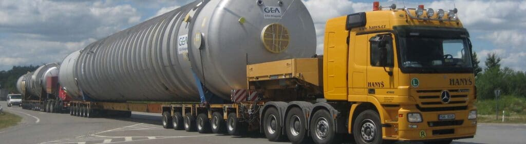 Сопровождение крупногабаритных грузов